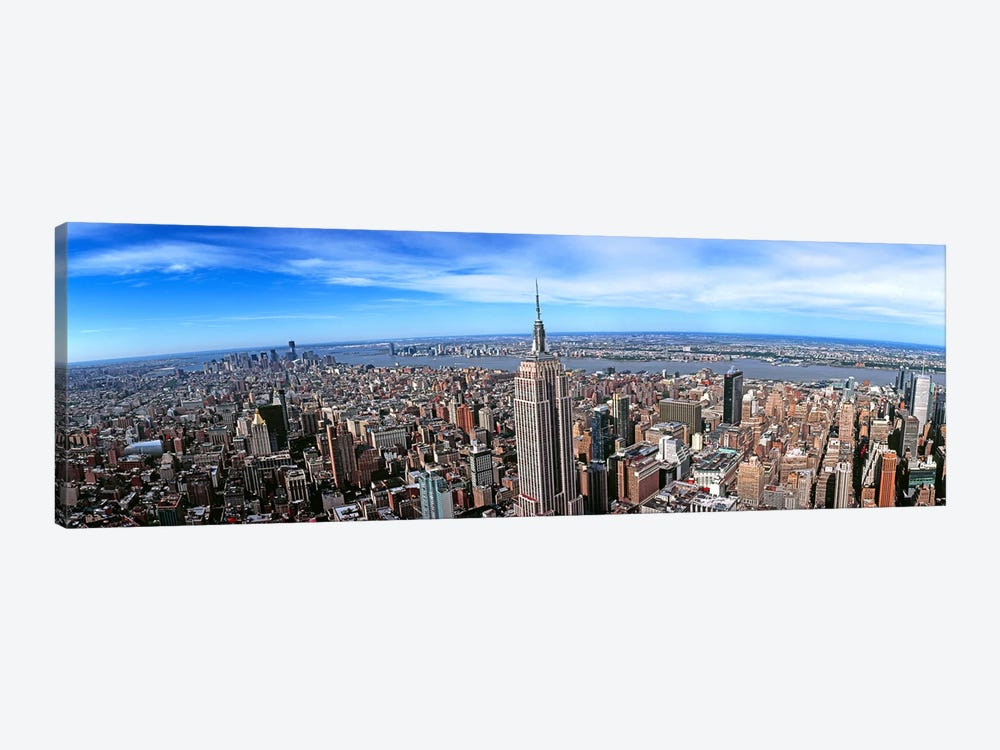 Aerial view of New York CityNew York State, USA by Panoramic Images 1-piece Canvas Print