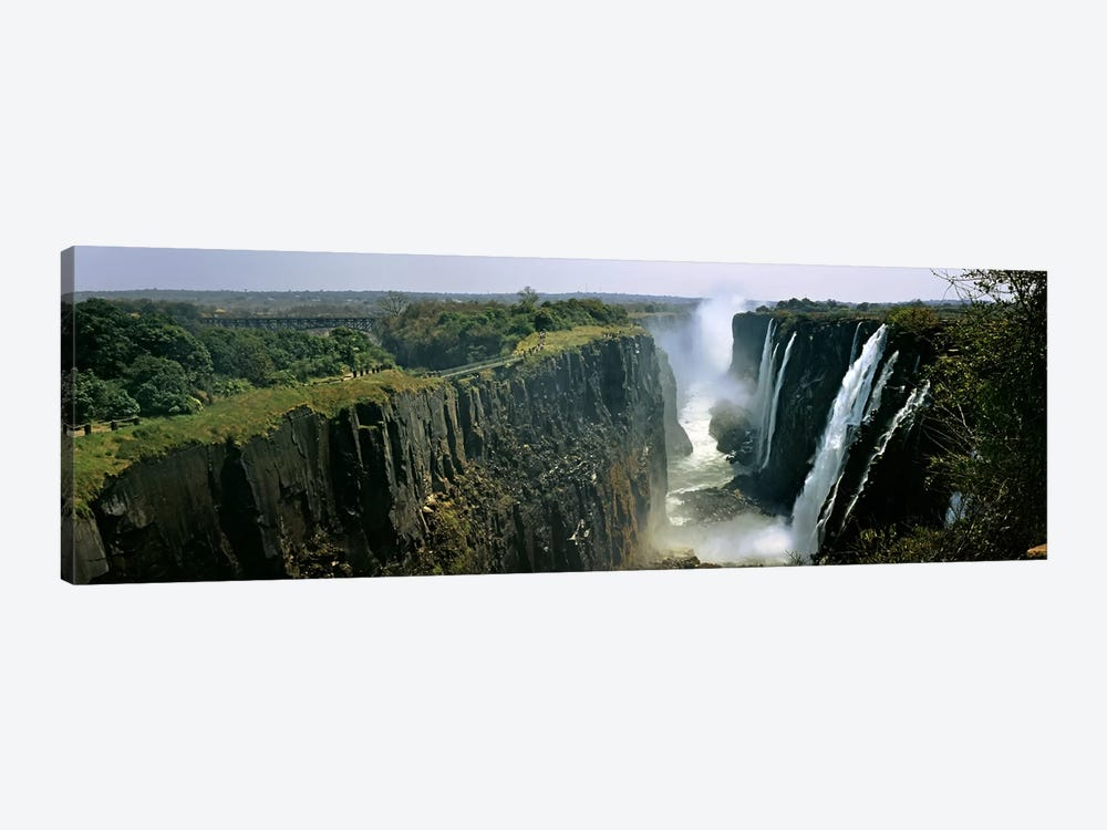 First Gorge, Victoria Falls (Mosi-oa-Tunya), Linvingstone, Zambia by Panoramic Images 1-piece Art Print