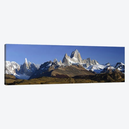 Fitz Roy-Torre Group, Los Glaciares National Park, Santa Cruz Province, Argentina Canvas Print #PIM10517} by Panoramic Images Canvas Print