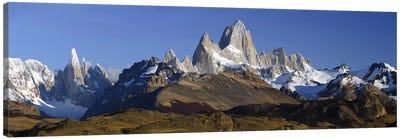 Fitz Roy-Torre Group, Los Glaciares National Park, Santa Cruz Province, Argentina Canvas Art Print