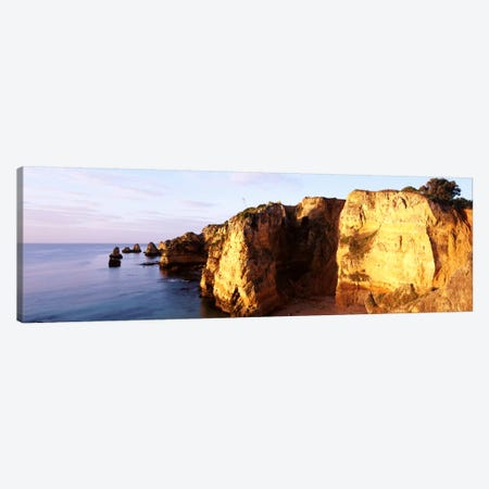 Portugal, Algarve Region, coastline Canvas Print #PIM1051} by Panoramic Images Canvas Wall Art