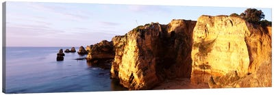 Portugal, Algarve Region, coastline Canvas Print #PIM1051