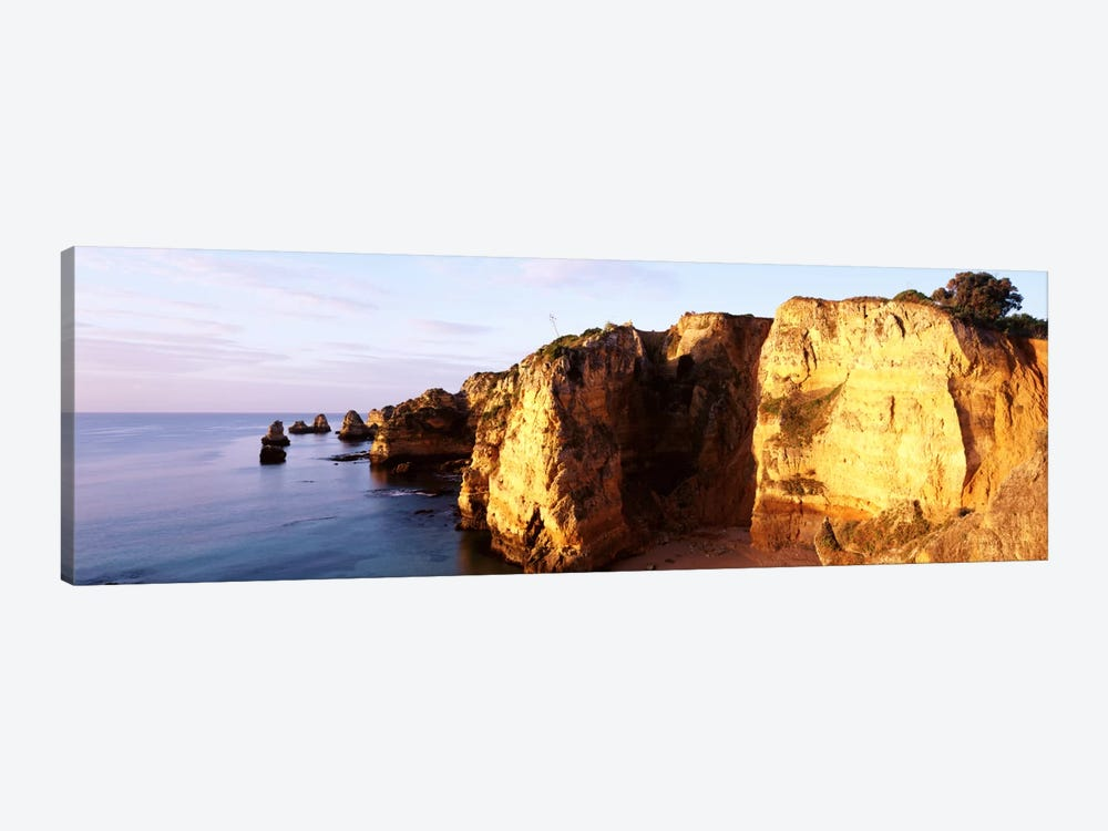 Portugal, Algarve Region, coastline by Panoramic Images 1-piece Canvas Wall Art
