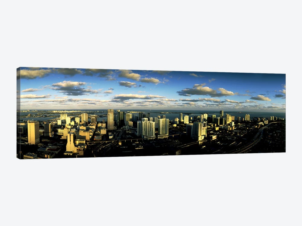 Clouds over the city skyline, Miami, Florida, USA by Panoramic Images 1-piece Canvas Wall Art