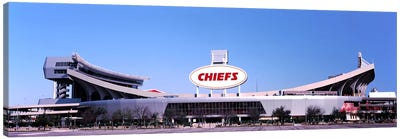 Football stadium, Arrowhead Stadium, Kansas City, Missouri, USA Canvas Art Print