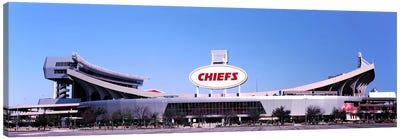 Football stadium, Arrowhead Stadium, Kansas City, Missouri, USA Canvas Art Print
