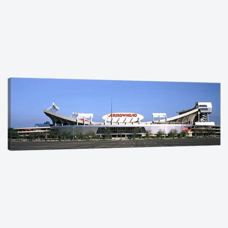 Football stadiumArrowhead Stadium, Kansas City, Missouri, USA Canvas Print #PIM10580} by Panoramic Images Canvas Print