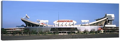Football stadiumArrowhead Stadium, Kansas City, Missouri, USA Canvas Art Print