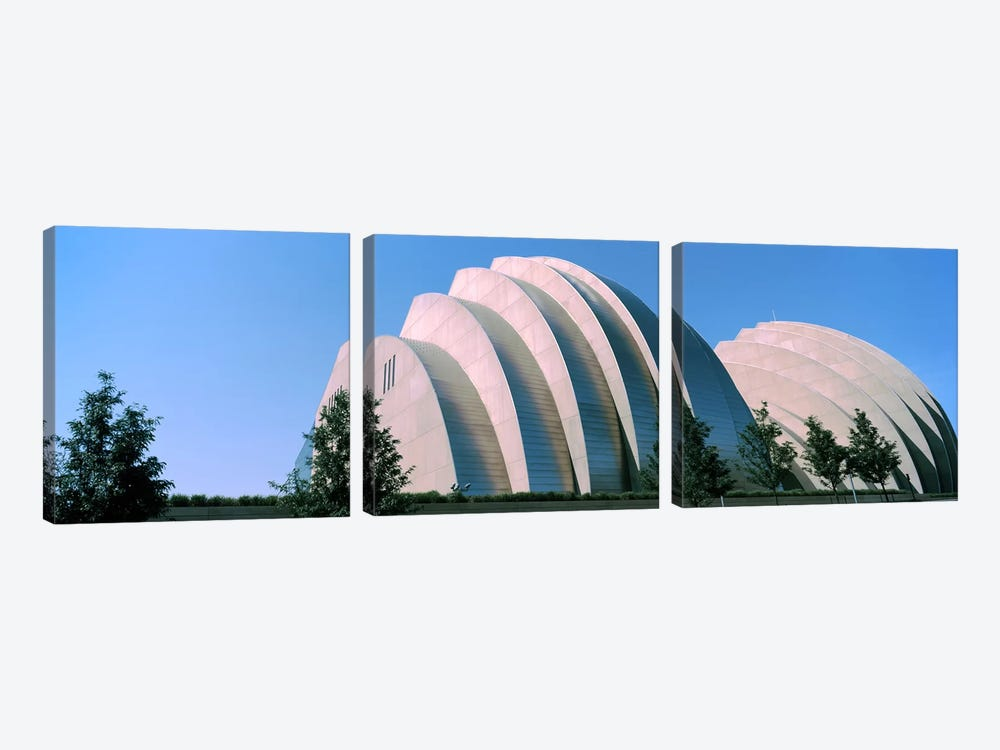 Kauffman Center for the Performing Arts, Kansas City, Missouri, USA by Panoramic Images 3-piece Canvas Print