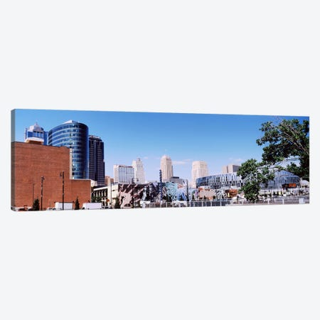Street art at Jazz District, Kansas City, Missouri, USA Canvas Print #PIM10587} by Panoramic Images Canvas Wall Art