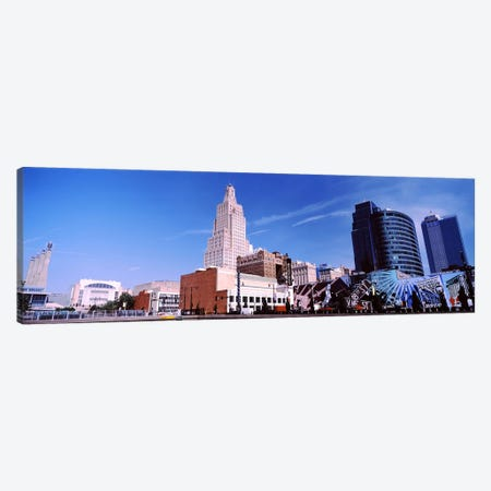 Street art at Jazz District, Kansas City, Missouri, USA #2 Canvas Print #PIM10588} by Panoramic Images Canvas Art Print