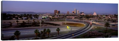 Skyline Phoenix AZ USA Canvas Art Print