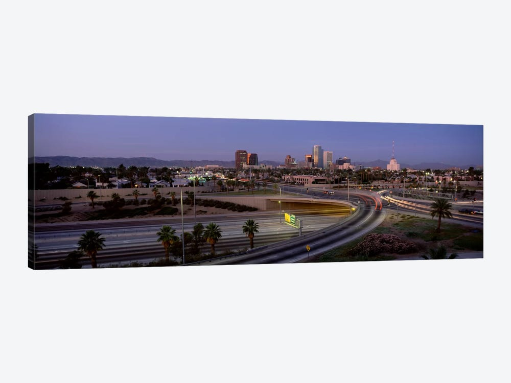 Skyline Phoenix AZ USA by Panoramic Images 1-piece Art Print