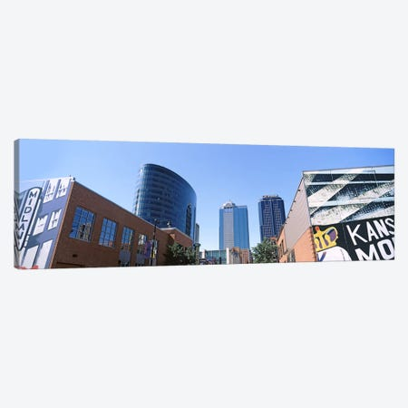 Street art at Downtown Kansas City, Missouri, USA Canvas Print #PIM10596} by Panoramic Images Art Print
