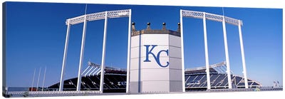Baseball stadium, Kauffman Stadium, Kansas City, Missouri, USA Canvas Art Print