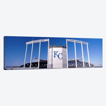 Baseball stadium, Kauffman Stadium, Kansas City, Missouri, USA Canvas Print #PIM10597} by Panoramic Images Canvas Print