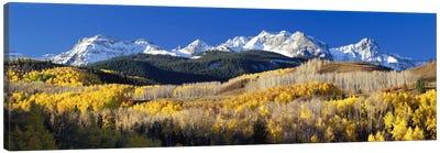 Autumn Landscape, Rocky Mountains, Colorado, USA Canvas Print #PIM105