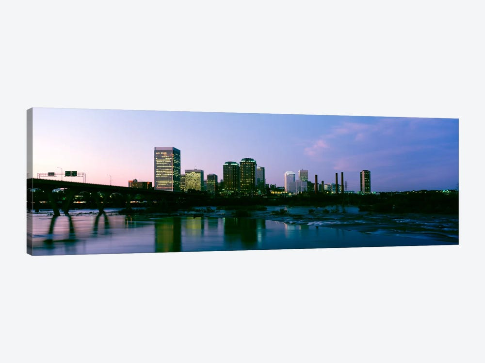 Downtown Skyline, Richmond, Virginia, USA 1-piece Canvas Art Print