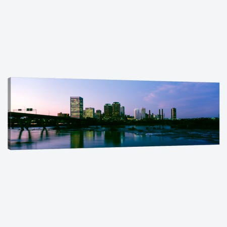 Downtown Skyline, Richmond, Virginia, USA Canvas Print #PIM1061} by Panoramic Images Canvas Print