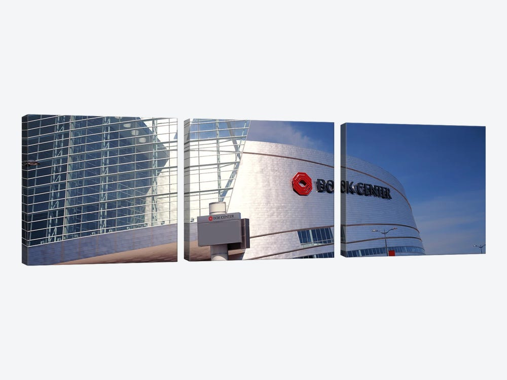 BOK Center at downtown Tulsa, Oklahoma, USA by Panoramic Images 3-piece Canvas Art