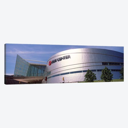 BOK Center at downtown Tulsa, Oklahoma, USA #2 Canvas Print #PIM10636} by Panoramic Images Canvas Wall Art