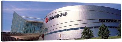 BOK Center at downtown Tulsa, Oklahoma, USA #2 Canvas Print #PIM10636