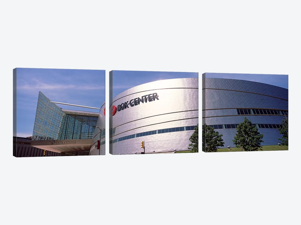 BOK Center at downtown Tulsa, Oklahoma, USA #2 by Panoramic Images 3-piece Canvas Print