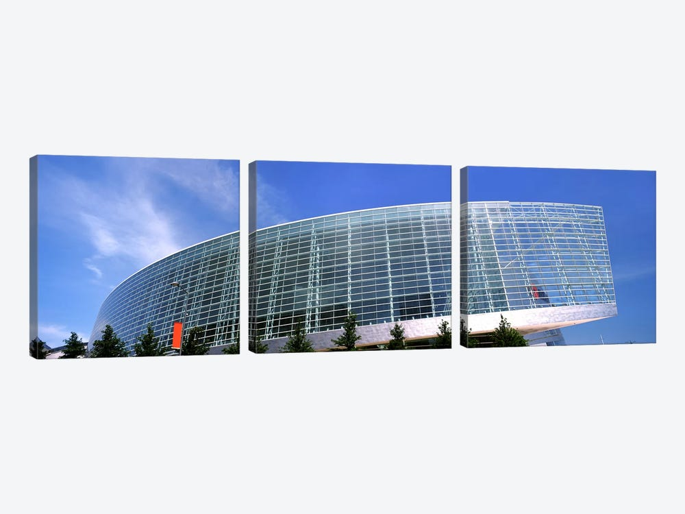 View of the BOK Center, Tulsa, Oklahoma, USA by Panoramic Images 3-piece Canvas Art
