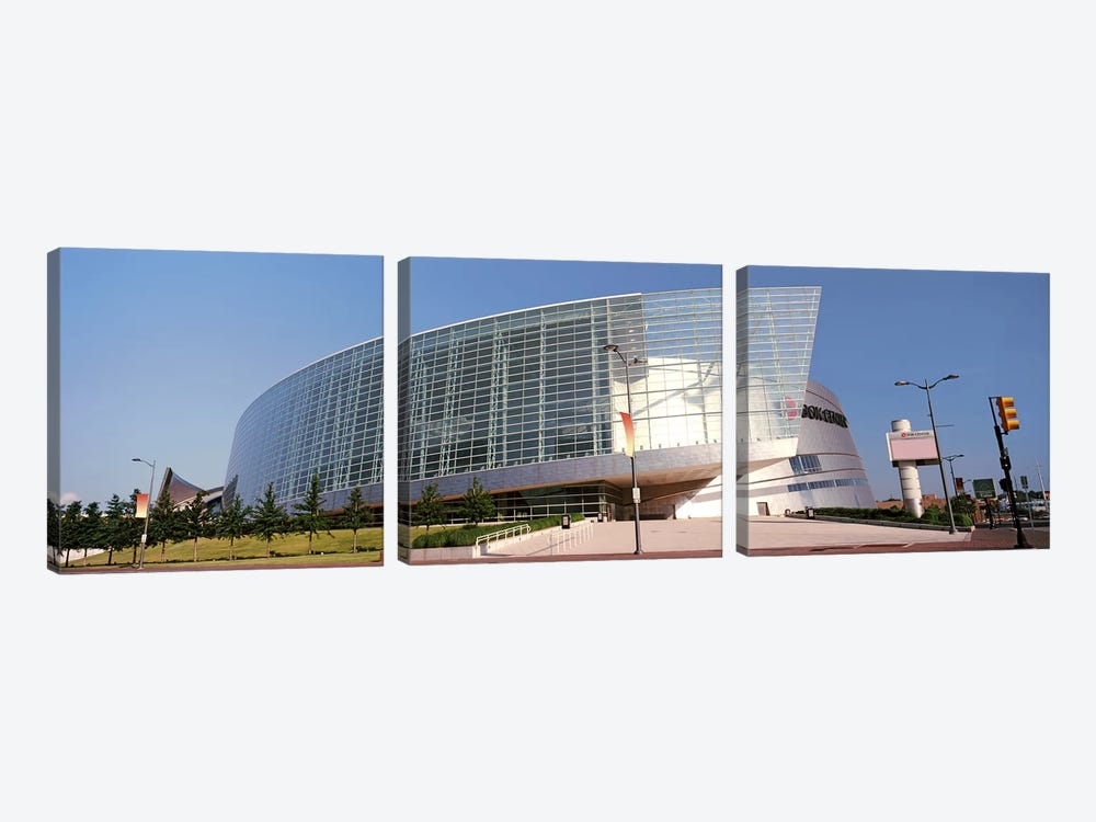 View of the BOK Center, Tulsa, Oklahoma, USA #2 by Panoramic Images 3-piece Canvas Print