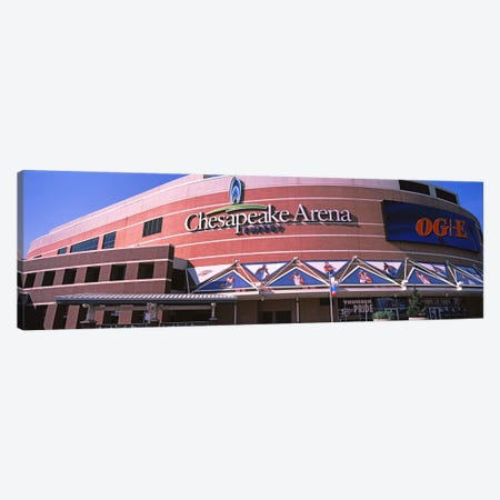 Low angle view of a stadium, Chesapeake Energy Arena, Oklahoma City, Oklahoma, USA Canvas Print #PIM10639} by Panoramic Images Art Print