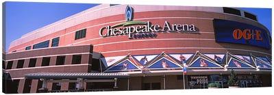 Low angle view of a stadium, Chesapeake Energy Arena, Oklahoma City, Oklahoma, USA Canvas Print #PIM10639