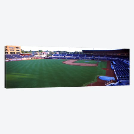 Baseball stadium in a city, Durham Bulls Athletic Park, Durham, Durham County, North Carolina, USA Canvas Print #PIM10712} by Panoramic Images Canvas Art