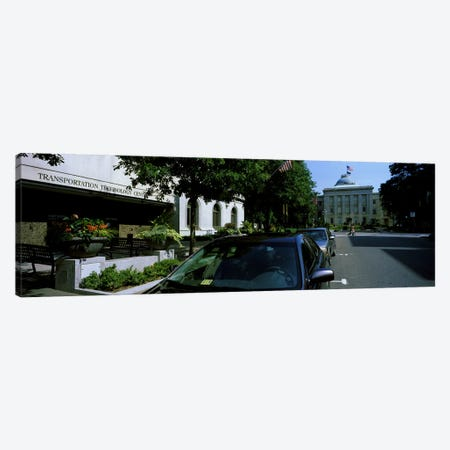 Cars parked in front of Transportation Technology Center, Raleigh, Wake County, North Carolina, USA Canvas Print #PIM10714} by Panoramic Images Art Print