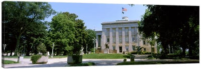 Government building in a city, City Hall, Raleigh, Wake County, North Carolina, USA Canvas Art Print