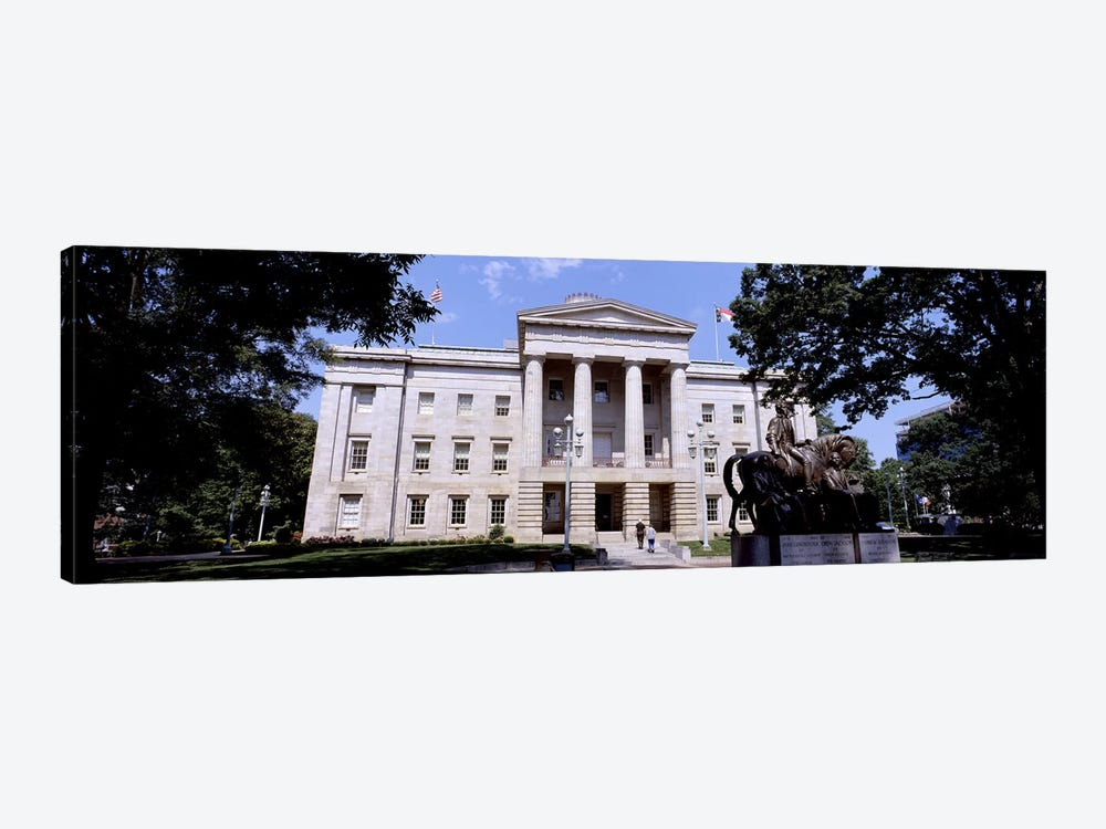 Facade of a government building, City Hall, Raleigh, Wake County, North Carolina, USA by Panoramic Images 1-piece Canvas Art Print