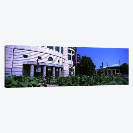 Museum in a city, North Carolina Museum of Natural Sciences, Raleigh, Wake County, North Carolina, USA Canvas Print #PIM10718} by Panoramic Images Canvas Art