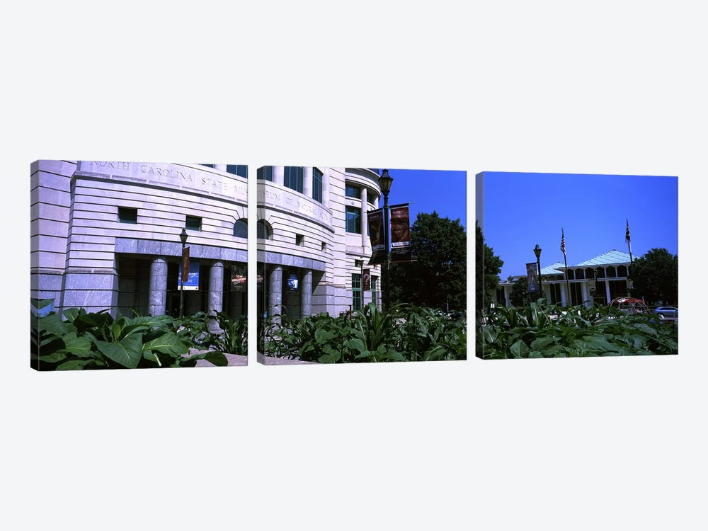 Museum in a city, North Carolina Museum of Natural Sciences, Raleigh, Wake County, North Carolina, USA by Panoramic Images 3-piece Canvas Wall Art