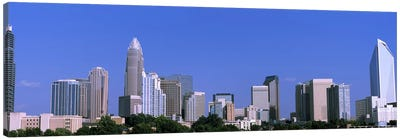 Downtown (Uptown) Skyline, Charlotte, Mecklenburg County, North Carolina, USA Canvas Art Print