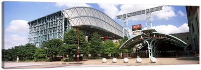 Baseball field, Minute Maid Park, Houston, Texas, USA Canvas Art Print