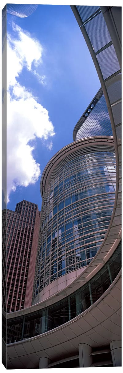 Low angle view of a building, Chevron Building, Houston, Texas, USA Canvas Art Print