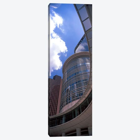 Low angle view of a building, Chevron Building, Houston, Texas, USA 3-Piece Canvas #PIM10749} by Panoramic Images Canvas Print