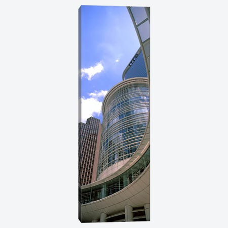 Low angle view of a building, Chevron Building, Houston, Texas, USA #2 Canvas Print #PIM10750} by Panoramic Images Canvas Wall Art