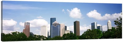 Skyscrapers in a city, Houston, Texas, USA Canvas Print #PIM10751
