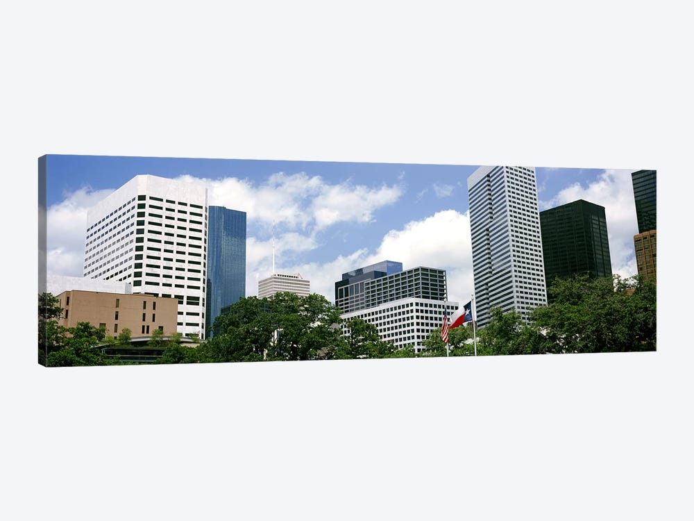Skyscrapers in a city, Houston, Texas, USA #2 by Panoramic Images 1-piece Canvas Wall Art