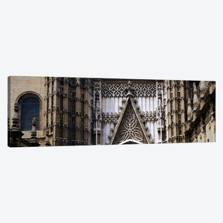 Close-up of a cathedral, Seville Cathedral, Seville, Spain Canvas Print #PIM1075} by Panoramic Images Canvas Art Print