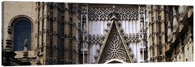 Close-up of a cathedral, Seville Cathedral, Seville, Spain Canvas Art Print