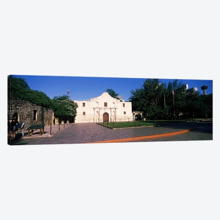 Facade of a building, The Alamo, San Antonio, Texas, USA #2 Canvas Print #PIM10765} by Panoramic Images Canvas Wall Art