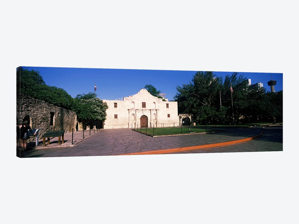 Facade of a building, The Alamo, San Antonio, Texas, USA #2 by Panoramic Images 1-piece Canvas Art