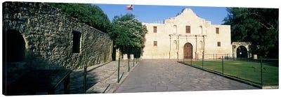 Facade of a building, The Alamo, San Antonio, Texas, USA Canvas Art Print