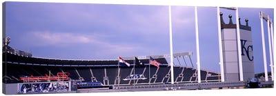 Baseball stadium in a city, Kauffman Stadium, Kansas City, Missouri, USA #2 Canvas Print #PIM10775